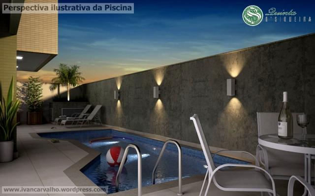 Quinta D Siqueira - Piscina