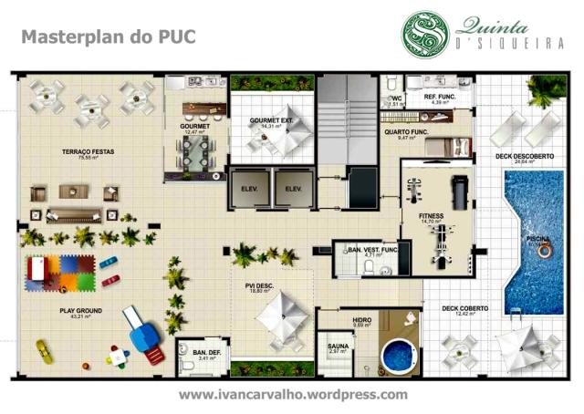 Quinta D Siqueira - Pavimento de uso comum