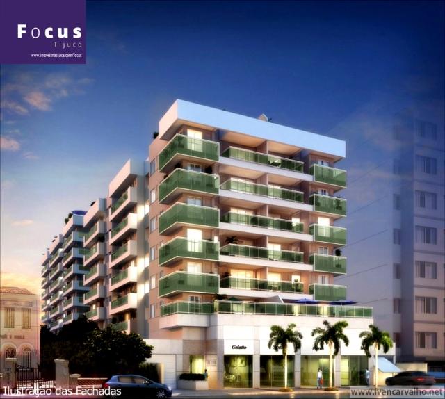 Lançamento na Rua Mariz e Barros, nº 821 - Tijuca | 2 e 3 quartos