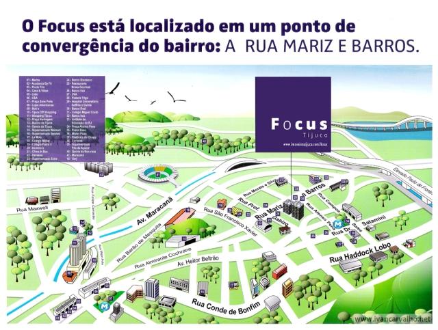 Lançamento na Rua Mariz e Barros, nº 821 Tijuca | 2 e 3 quartos