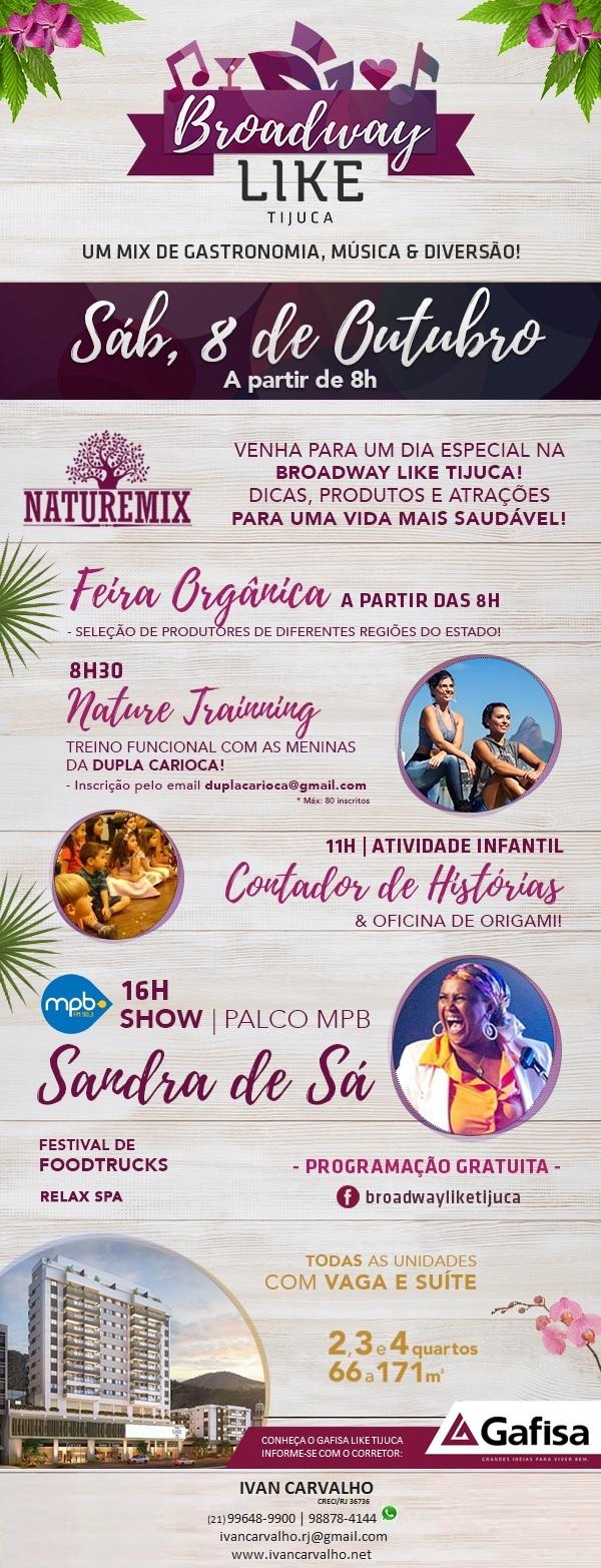 Gafisa Like Tijuca | Rua Conde de Bonfim, nº 977