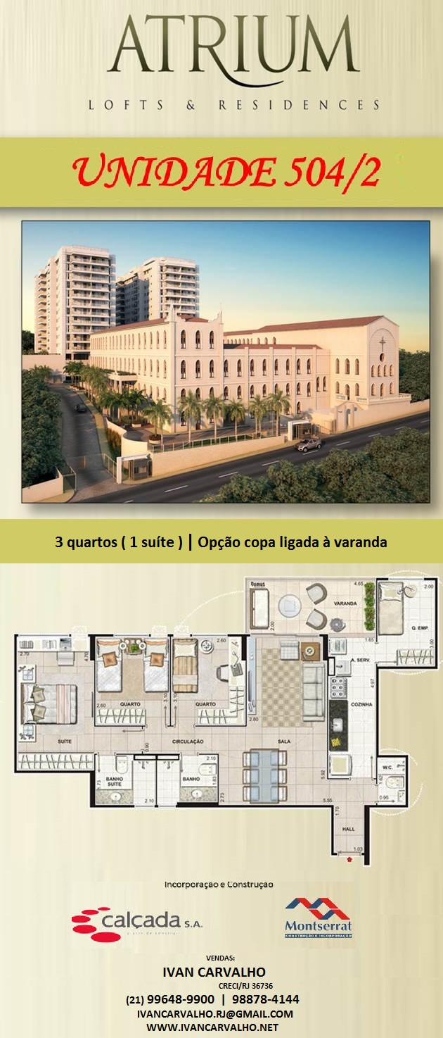 OPORTUNIDADE NO ATRIUM RESIDENCES